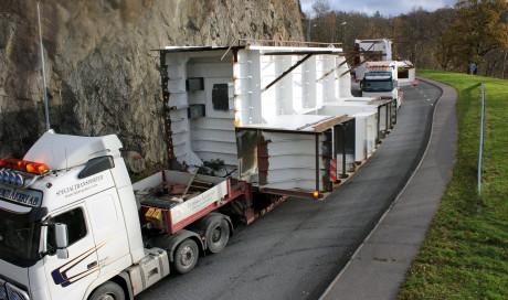 Transport av Braheborg
